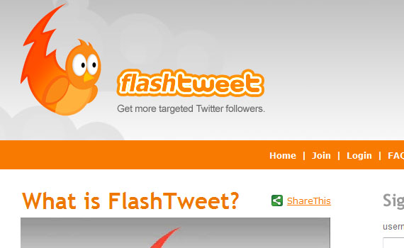 Flash-tweet-twitter-tools