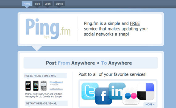 Ping-twitter-tools