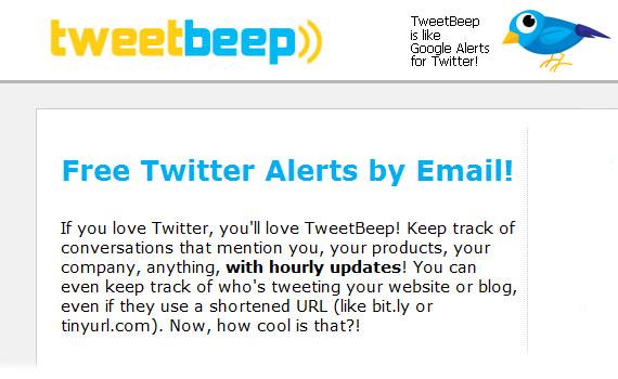 Tweet-beep-twitter-tools