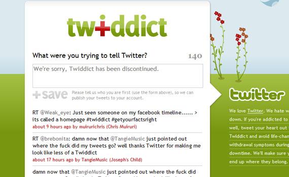 Twiddict-twitter-tools