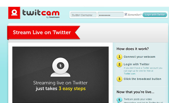 Twitcam-twitter-tools