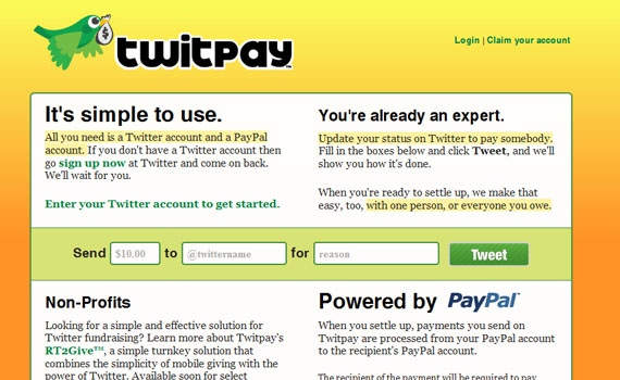 Twitpay-twitter-tools
