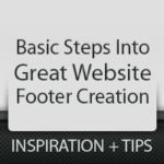 Tips and Inspiration on Creating a Great Website Footer