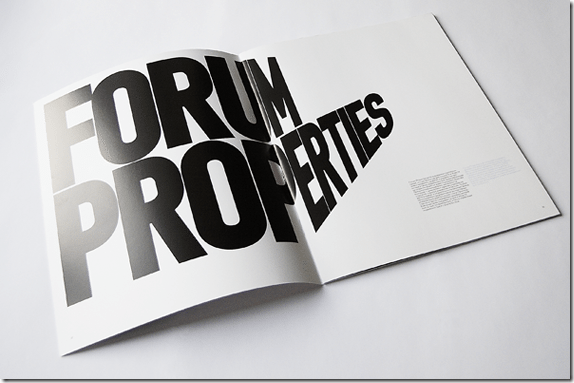 Forum Properties Brochure