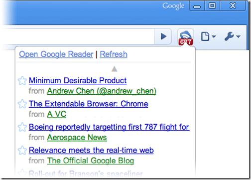 Google-Reader-Notifier-Google-Chrome-Extensions-bloggers