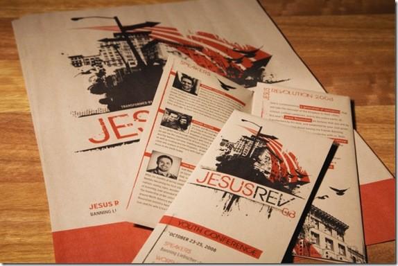 JesusRevolution Conference Brochure