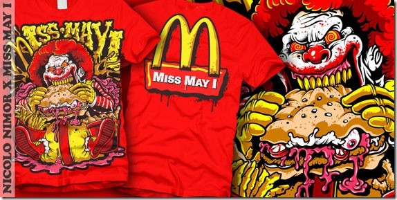 MISS MAY I - Ronald Mcdrool