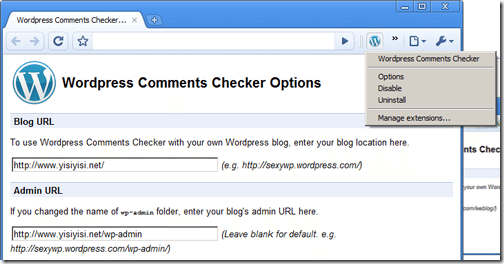 Wordpress-Comments Notifier-Google-Chrome-Extensions-bloggers