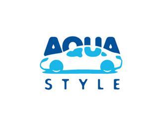 aqua atyle inspirational logos 39 Logos creativos con mensajes ocultos