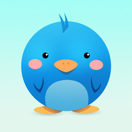 Create-adorable-cute-twitter-icon-photoshop-character-illustration-tutorials