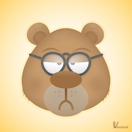 Create-grumpy-bear-character-illustration-tutorials