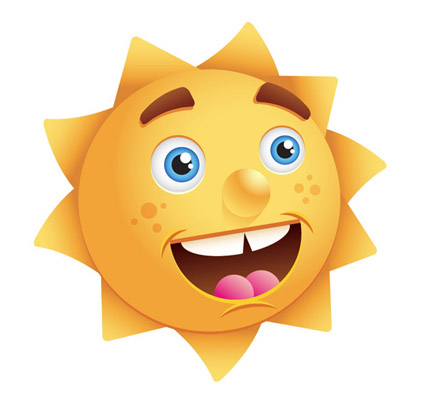 Create-happy-sun-character-illustration-tutorials