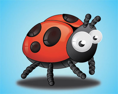 Create-lady-bird-insect-using-adobe-character-illustration-tutorials