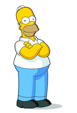 Drawing-homer-simpson-character-illustration-tutorials