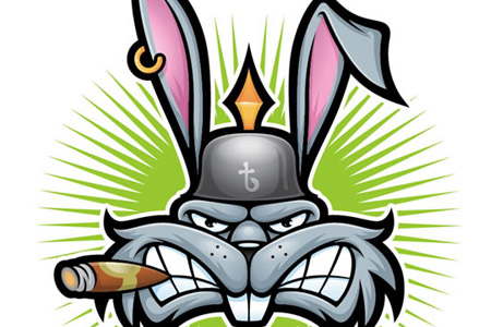 Symmetrical-thug-bunny-character-illustration-tutorials