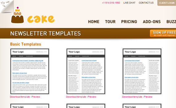 cake newsletter templates html email tips. Black Bedroom Furniture Sets. Home Design Ideas