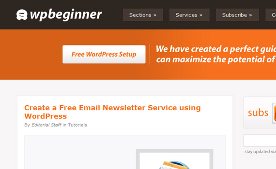 Create-free-newsletter-with-wordpress-using-feedburner-html-email-tips
