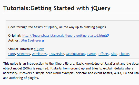 Getting-started-jquery-tutorials-for-beginners