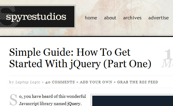 Simple-guide-get-started-series-jquery-tutorials-for-beginners