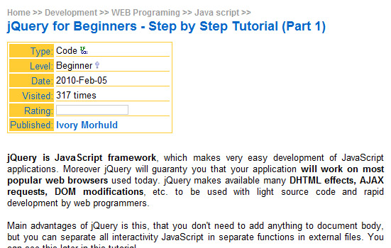 Step-by-step-jquery-tutorials-for-beginners