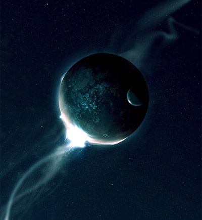 Space-environment-abstract-lighting-effects-tutorials