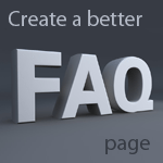 How to Create a better FAQ page for end users