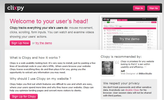 Clixpy-extension-web-design-analytics-tools