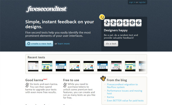 Five-second-test-extension-web-design-analytics-tools