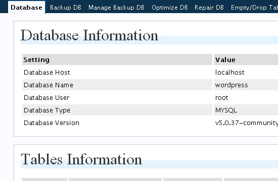 Databse-manager-wordpress-security-tools-tips-plugins