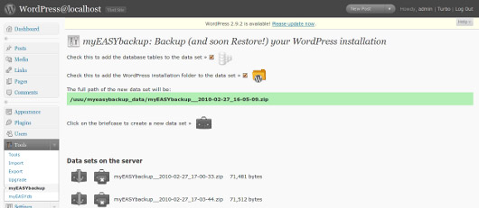 My-easy-backup-wordpress-security-tools-tips-plugins