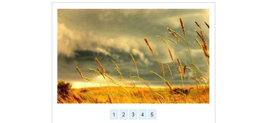 Howto Create An Image Slider With Pure CSS3