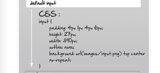 Stylize Input Element Using CSS3