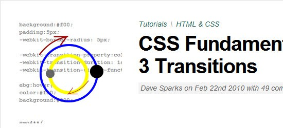 CSS3 Fundametals: CSS 3 Transitions