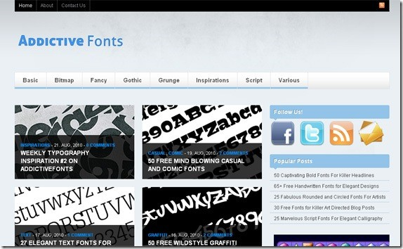 Addictive-fonts