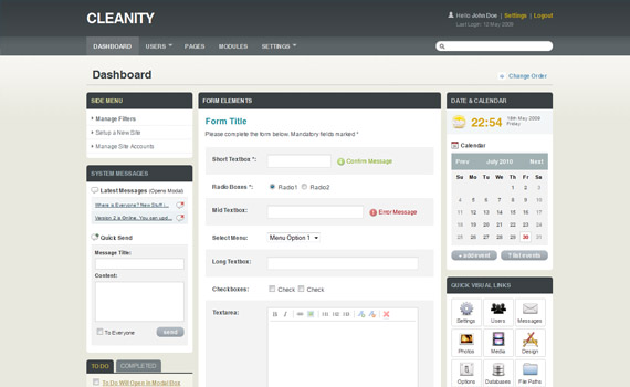 Cleanity-commercial-admin-themes