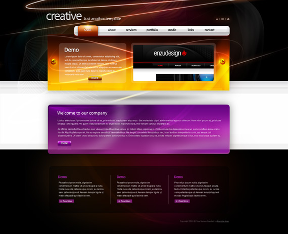 Badboythemer-deviantart-webdesign-site-inspirational-showcase