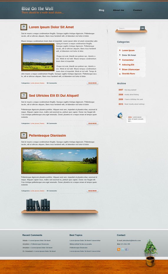 Blog-wall-deviantart-webdesign-site-inspirational-showcase