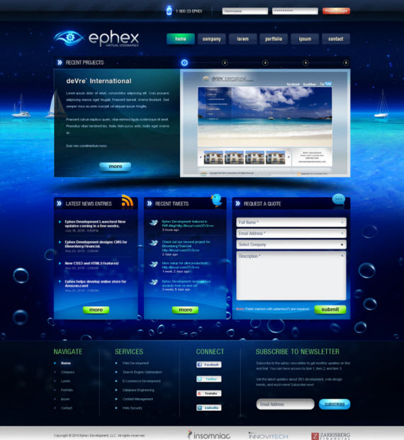 ephex-web-development-futuristic-webdesigns-from-deviantart