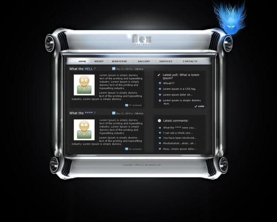 nex-futuristic-webdesigns-from-deviantart