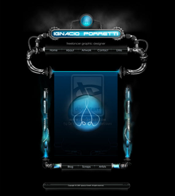 web-page-interface-futuristic-webdesigns-from-deviantart