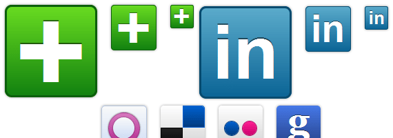 Social Media Pure CSS icons