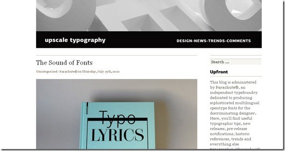 upscale typography-Typography-Font-Related-Blogs