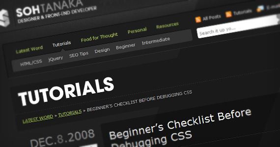 Beginner-css-debugging-useful-web-design-checklists