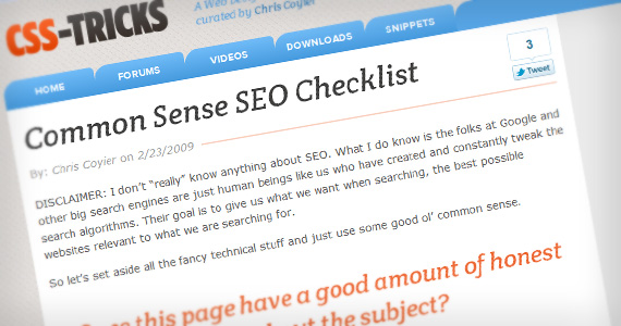 Common-sense-seo-useful-web-design-checklists
