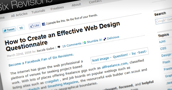 Create-effective-questionnaire-useful-web-design-checklists