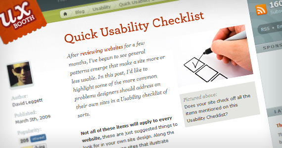 Quick-usability-useful-web-design-checklists