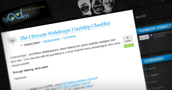 Ultimate-usability-list-useful-web-design-checklists