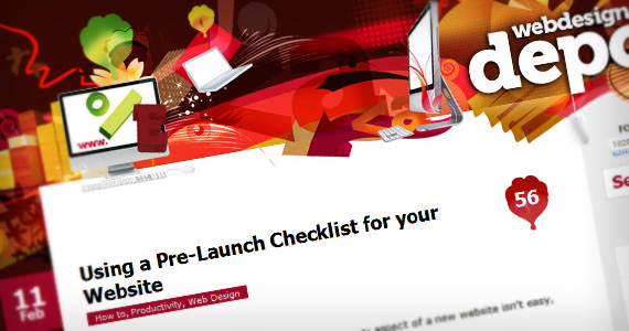 Using-pre-launch-website-useful-web-design-checklists