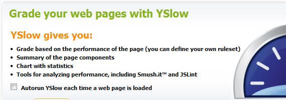 Use Free ySlow Tool