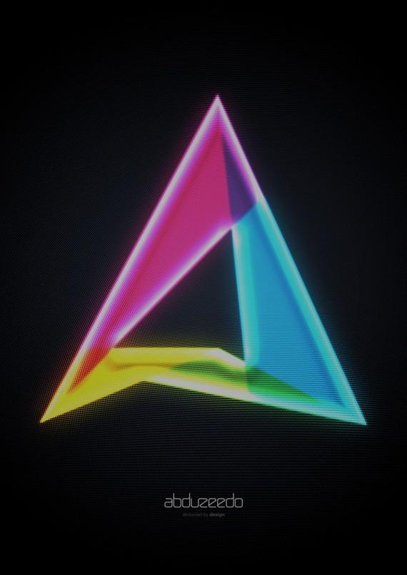 Abduzeedo 2010 Logo Design - Adobe Illustrator Text Effects Tutorials